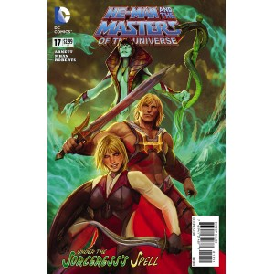 HE-MAN AND THE MASTERS OF THE UNIVERSE 17. DC RELAUNCH (NEW 52).