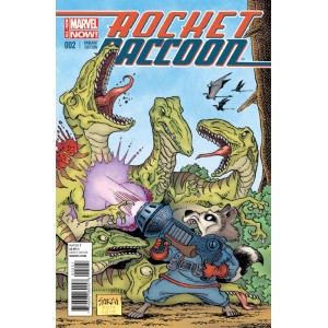 ROCKET RACCOON 2. VARIANT. MARVEL NOW!