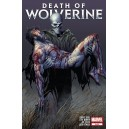 DEATH OF WOLVERINE 4. FOIL COVER. MARVEL NOW!