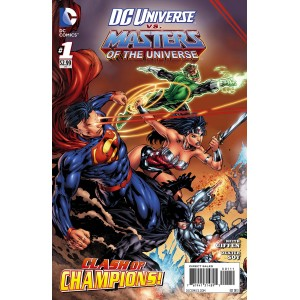 DC UNIVERSE VS. THE MASTERS OF THE UNIVERSE SET 1 to 6. DC COMICS