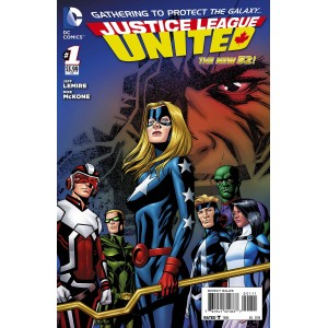 JUSTICE LEAGUE UNITED 1. DC NEWS 52.