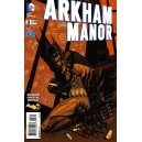 ARKHAM MANOR 3. DC RELAUNCH (NEW 52).
