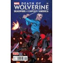 DEATH OF WOLVERINE. DEADPOOL AND CAPTAIN AMERICA 1.  MARVEL NOW!
