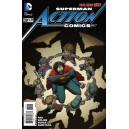 ACTION COMICS 39. DC NEWS 52.