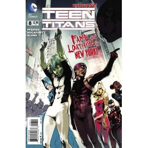 TEEN TITANS 8. DC RELAUNCH (NEW 52).