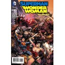 SUPERMAN and WONDER WOMAN 17. DC RELAUNCH (NEW 52).