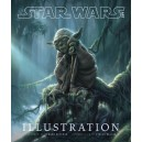 STAR WARS ART. ILLUSTRATION. HARD COVER.