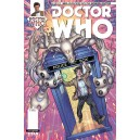 DOCTOR WHO. THE 11TH DOCTOR 11. COMICS COVER. TITANS COMICS.