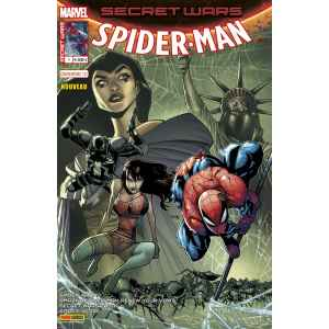 SPIDER-MAN 1. SECRET WARS. MARVEL. LILLE COMICS. OCCASION.