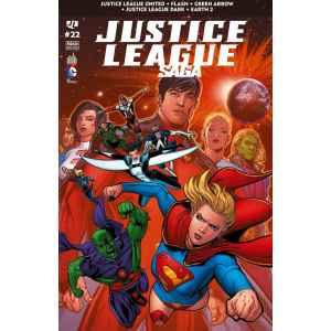 JUSTICE LEAGUE SAGA 22. FLASH. GREEN ARROW. DC COMICS. OCCASION. LILLE COMICS.