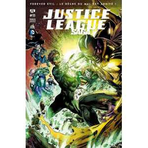 JUSTICE LEAGUE SAGA 11. FLASH. GREEN AROW. DC COMICS. OCCASION. LILLE COMICS.