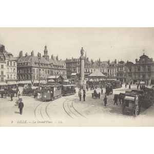 LILLE. CARTES POSTALES ANCIENNES. LILLE COLLECTIONS.