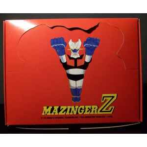 MAZINGER Z. BOITE DE 12 FIGURINES MAZINGER Z. NEUF. LILLE COLLECTIONS..