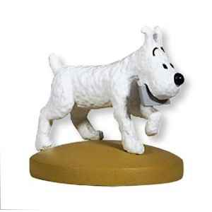 TINTIN FIGURINE. MILOU MESSAGER. TINTIN AU TIBET. LILLE COLLECXTIONS.