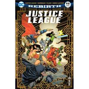 JUSTICE LEAGUE REBIRTH 6. DC REBIRTH. OCCASION. LILLE COMICS.