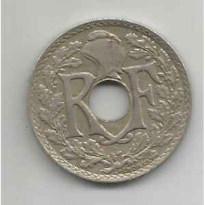25 CENTIMES. 1919 LINDAUER. LILLE COLLECTIONS..
