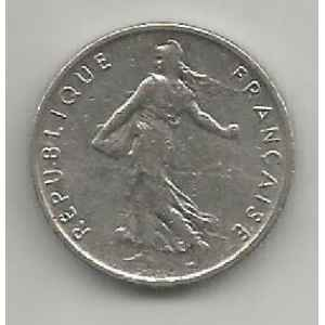 50 CENTIMES. 1973 SEMEUSE. LILLE COLLECTIONS.