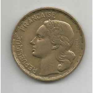 20 FRANCS. G. GUIRAUD 1950 B 3 FAUCILLES. LILLE COLLECTIONS.