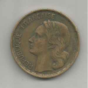 50 FRANCS. GUIRAUD 1952 B. LILLE COLLECTIONS.