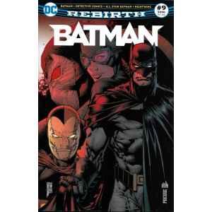 BATMAN REBIRTH 9. DC REBIRTH. OCCASION. LILLE COMICS.