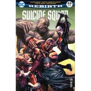 SUICIDE SQUAD REBIRTH 8. DC REBIRTH. OCCASION. LILLE COMICS.