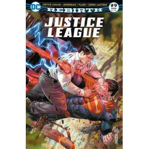 JUSTICE LEAGUE REBIRTH 9. DC REBIRTH. OCCASION. LILLE COMICS.