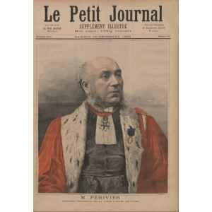LE PETIT JOURNAL 107 DU 10 DECEMBRE 1892. COUR D'APPEL DE PARIS. LILLE COLLECTIONS