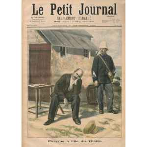 LE PETIT JOURNAL 306 DU 27 SEPTEMBRE 1896. DREYFUS A L'ILE DU DÎABLE. LILLE COLLECTIONS