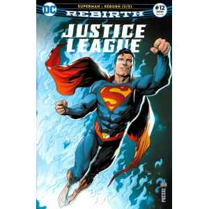 JUSTICE LEAGUE REBIRTH 12. DC REBIRTH. OCCASION. LILLE COMICS.