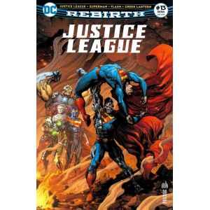JUSTICE LEAGUE REBIRTH 13. DC REBIRTH. OCCASION. LILLE COMICS.