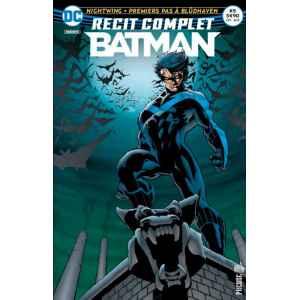 BATMAN RECIT COMPLET 5. NIGHTWING. PREMIERS PAS A BLÜDHAVEN. DC REBIRTH. OCCASION. LILLE COMICS.