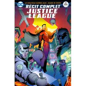 JUSTICE LEAGUE RÉCIT COMPLET 7. SUPER-MAN. MADE IN CHINA. DC REBIRTH. OCCASION. LILLE COMICS.