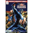 CAPTAIN AMERICA REBORN 1. MARVEL NUMBER ONE.
